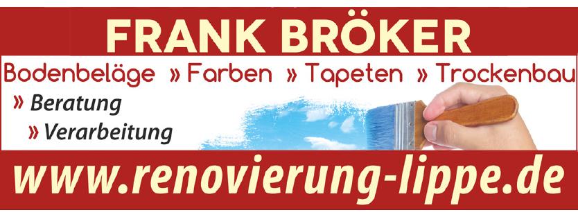 Frank Broeker Renovierung in Lippe