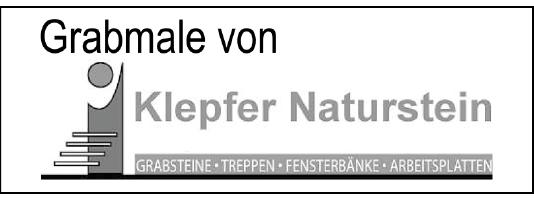 Klepfer Naturstein