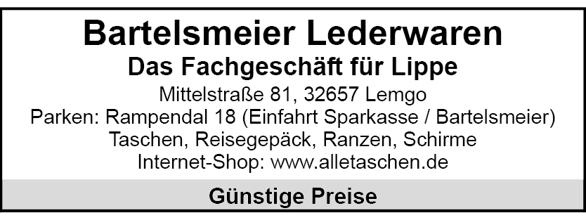 Bartelsmeier Lemgo