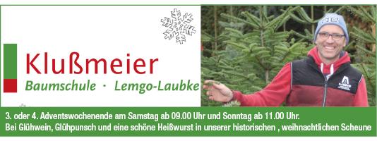 Klußmeier Weihnachtsbäume Lemgo