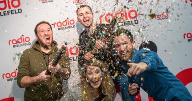 Die meisten Hörer! – Radio Bielefeld bleibt ganz vorn