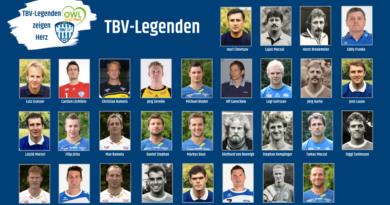 TBV-Legenden – Das Line-up für den 14. März