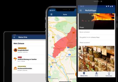 Neue Version der Warn-App NINA ab sofort verfügbar