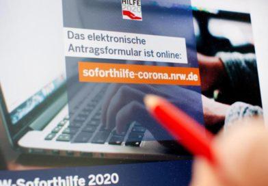 Betrugsverdacht: NRW muss Auszahlung von Soforthilfen zunächst stoppen