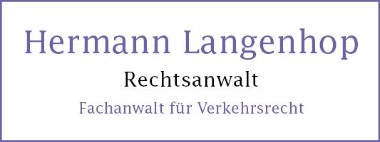 Hermann Langehop Rechtsanwalt