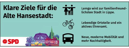 Klare Ziele für die Hansestadt - SPD in Lemgo