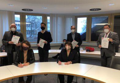 Lippe: Rot-Grün unterzeichnet Koaltionsvereinbarung