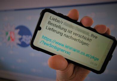 Neue Welle von Fake-Paket-SMS