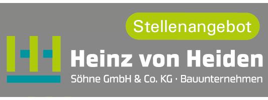 Heinz von Heiden Stellenanzeige