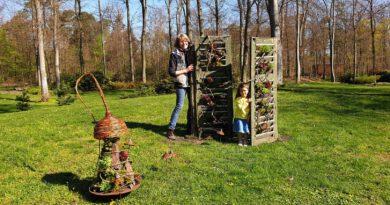 Zwerge und Gnome erobern die Gartenschau