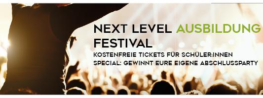 Next Level Ausbildung Festival Bielefeld
