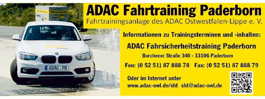 ADAC Fahrtraining