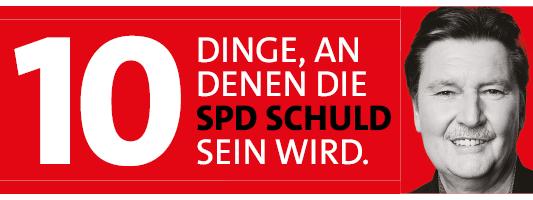 SPD 10 Dinge Bundestagswahl