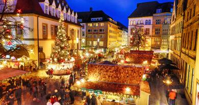 Weihnachtszauber in der Bielefelder Innenstadt