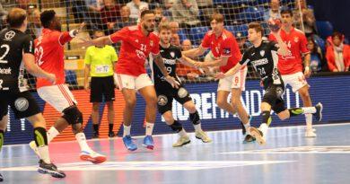 Lemgo unterliegt Benfica Lissabon hauchdünn